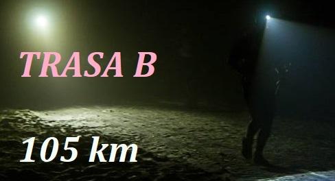 TRASA B 105 km