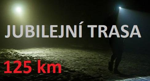 jubilejní trasa                                                           125 km
