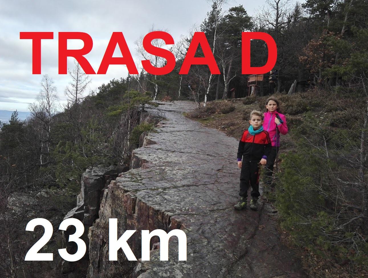 TRASA D 25 km